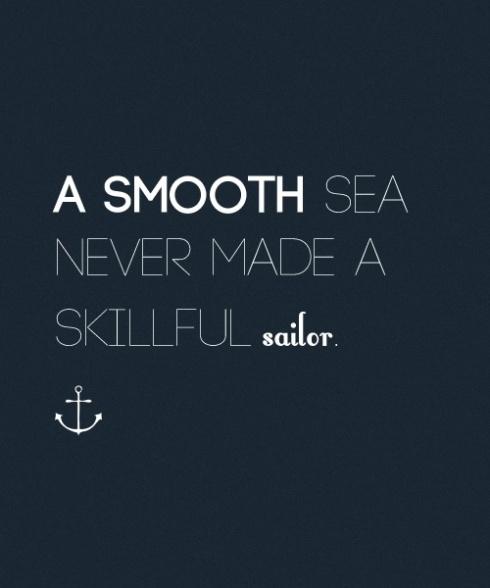 skillful sailor